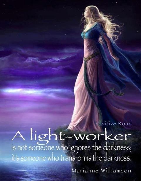 a LIGHT WORKER