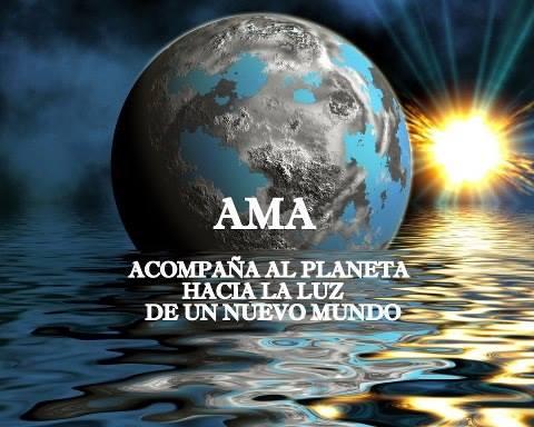 Ama acompana al Planeta hacia un nuevo mundo
