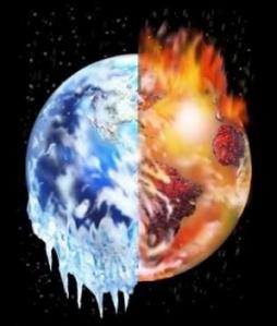 cambis planetarios calentamiento vs. hielo
