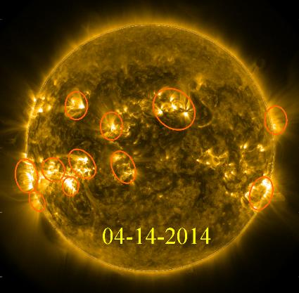 Solar Flraaaares
