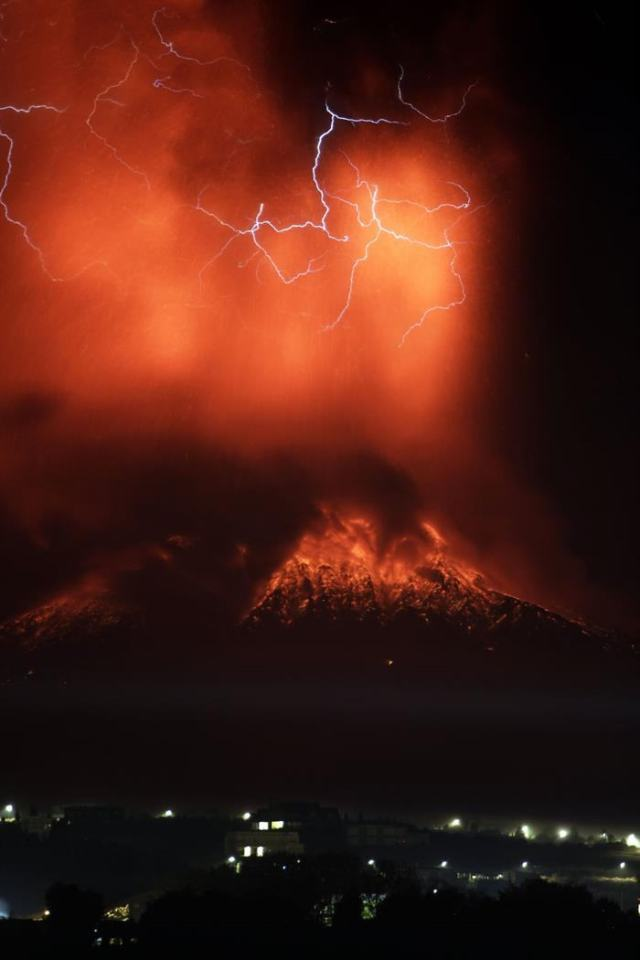 Volcan Calduco Chile 6