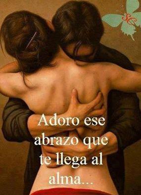 Adoro ese abrazo