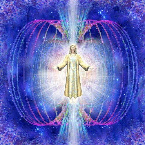 La energia del amor expandiendose.