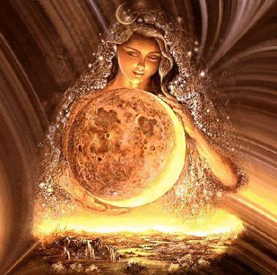 Madre Divina principio fememnino