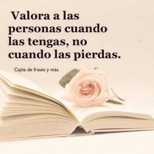 Valora a las personas