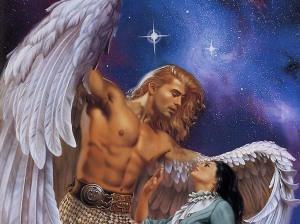 Arcangel Miguel con su alma gemela