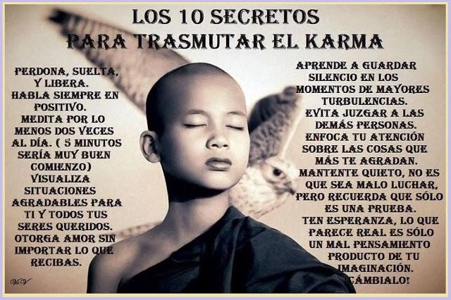comotransmutar el karma