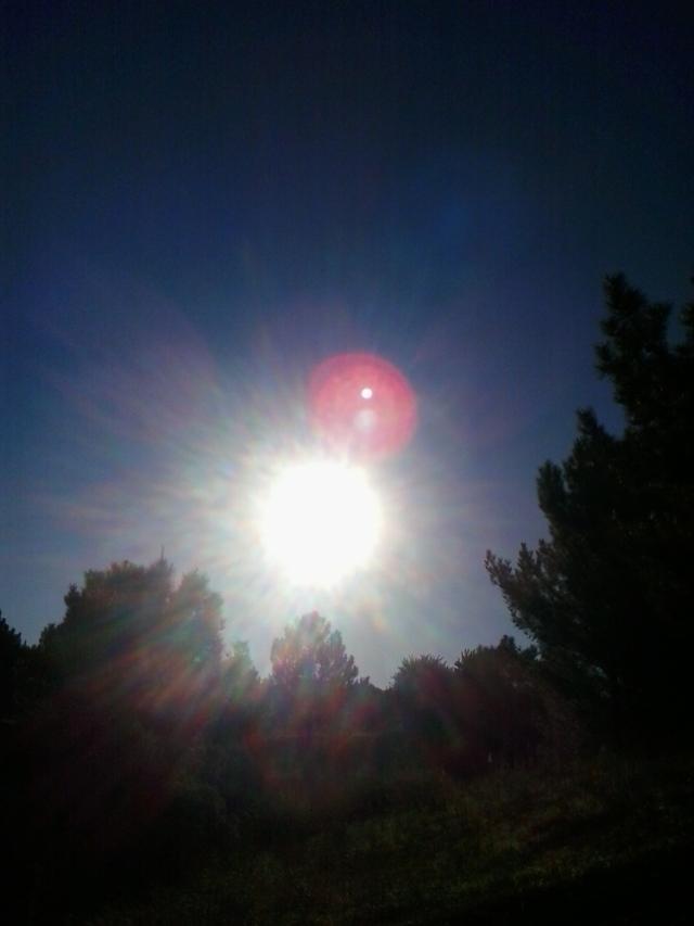 Orbes en el sol 2