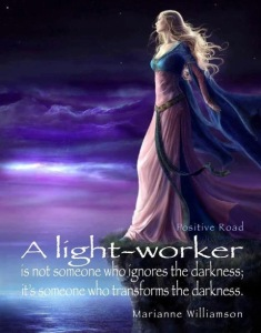a LIGHT WORKER