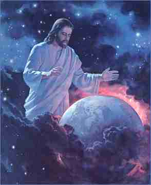 Jesus con la Tierra