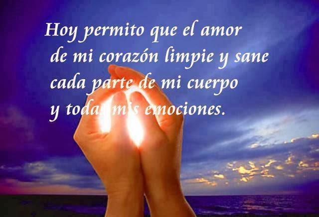 Hoy permito que el amor