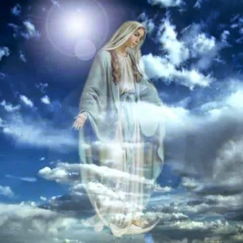 Maria en el aire