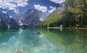 Lago Verde, Italia
