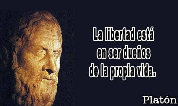 La libertad esta en ser duenos de nuestra vida