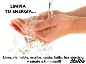 Limpia tu energia