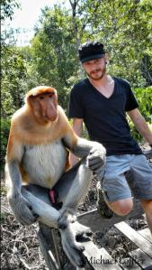 Mono con pito