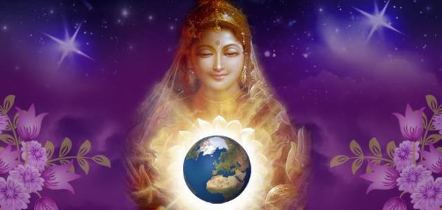La diosa quiere amor para el planeta