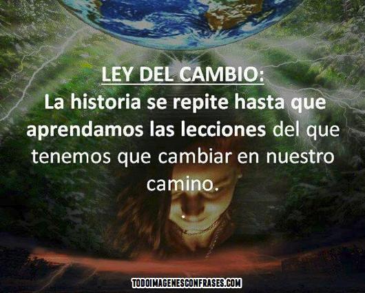lEY DEL cAMBIO