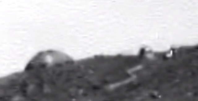 Misterioso domo encontrado en Marte.