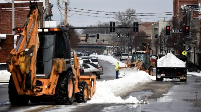 Tormenta masiva de nieve