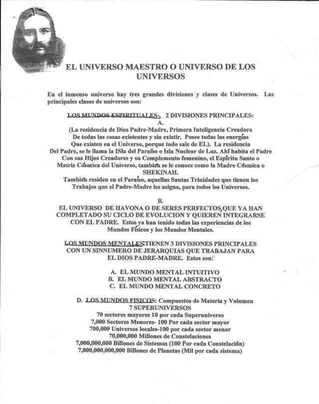 El Universo Maestro- Urantia
