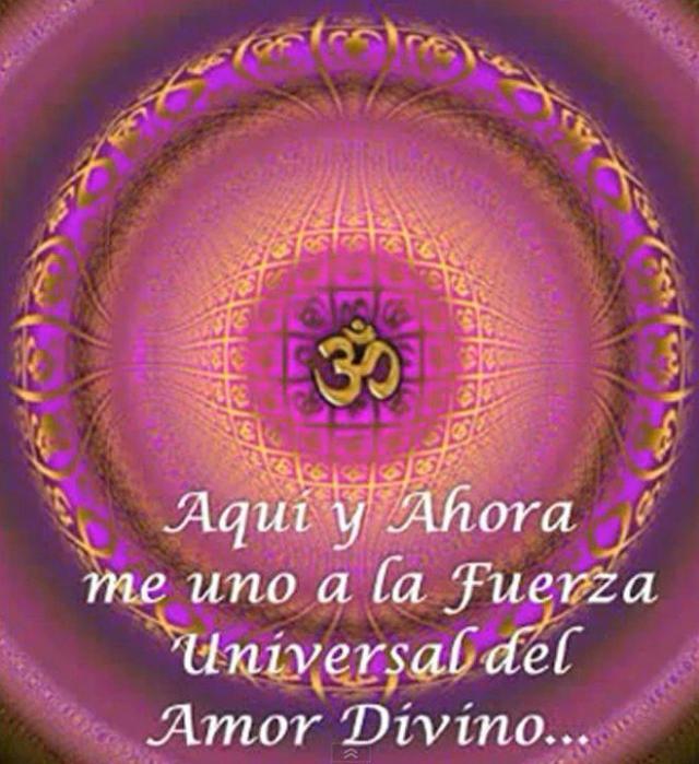 amor- Me unod al amor divino del universo