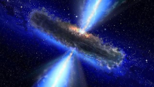 Astronomos descubren fuente de agua en un quazar