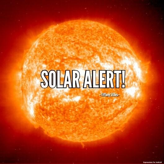 Solar Alert Extreme ultra violet