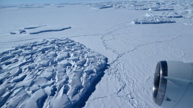 Cambios climaticos la Antarctica