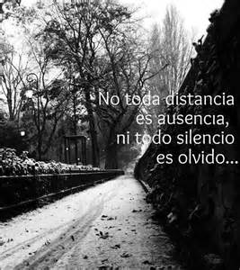 NO TODA DISTANCIA