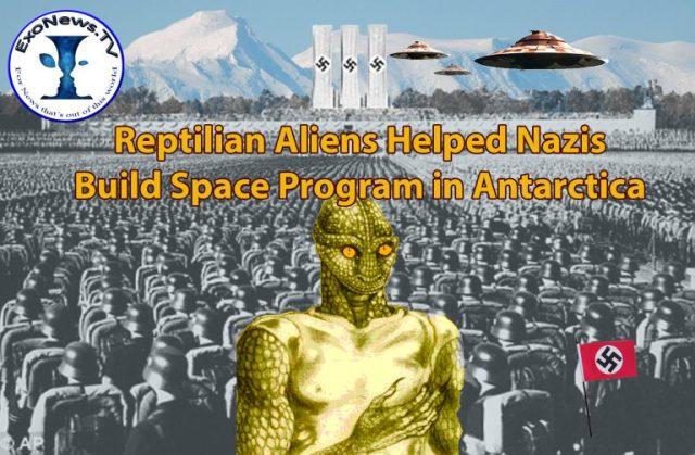 Reptilian Aliens helped nazi Germany