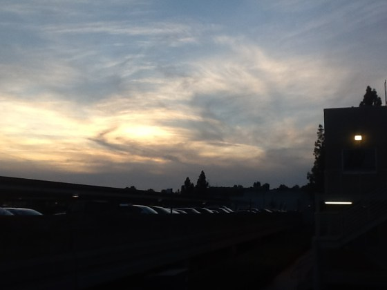 San Diego nubes raras