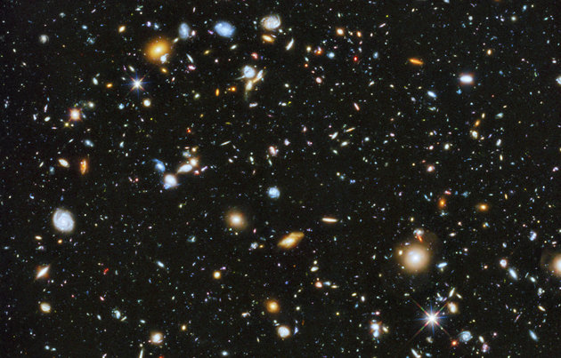 Handout of colorful deep space image captured by NASA's Hubble Space Telescope