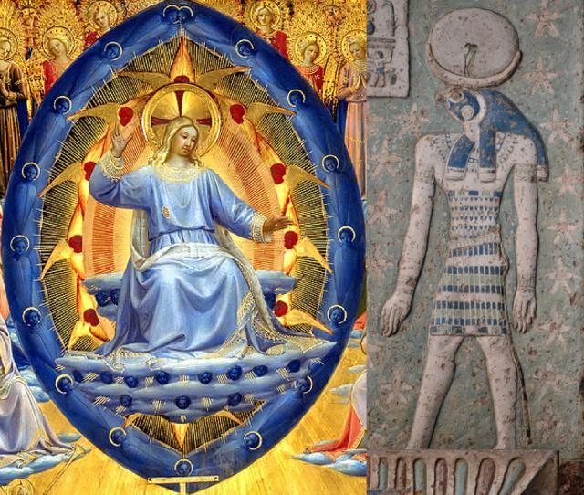 El Cristo en azul