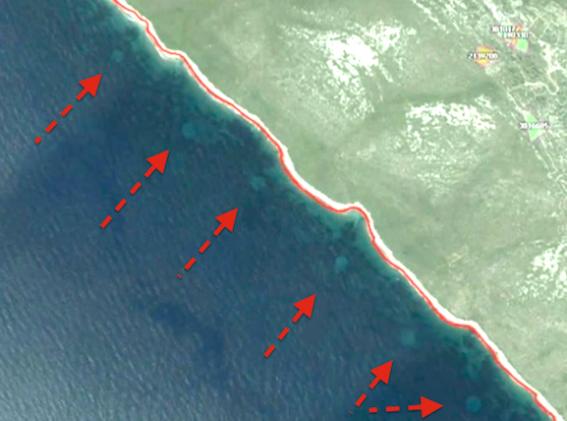 ufosea1 Espirales en el mar en Croacia.png