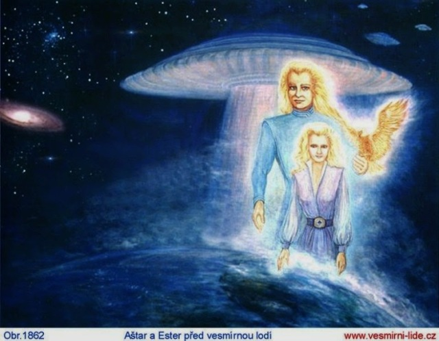 ashtar y athena, almas gemelas