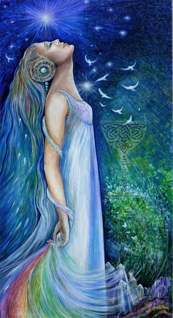Mujer de las estrellas