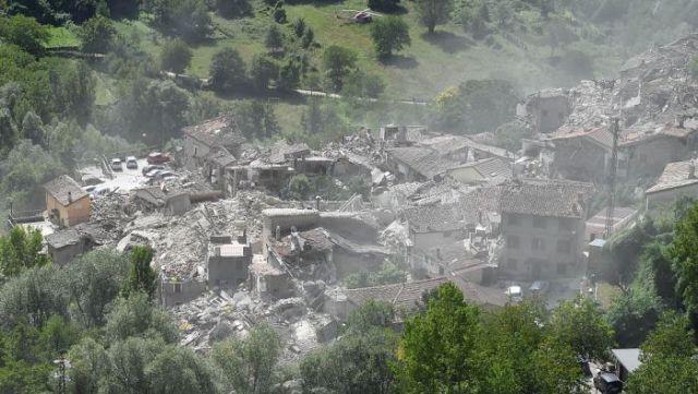 Teremoto en Italia deja 63 Muertos