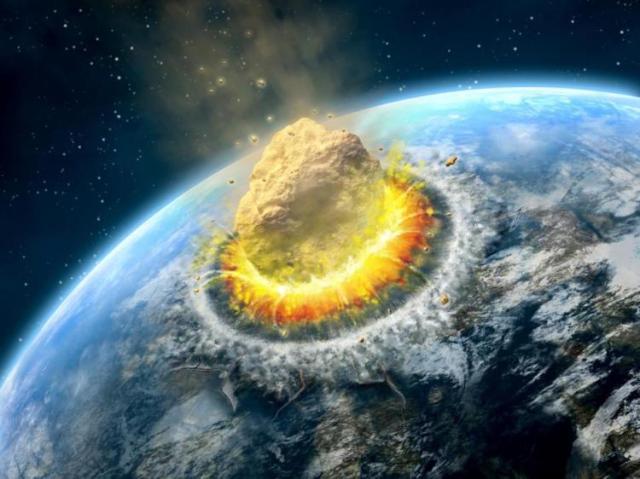 asteroide-impactando-la-tierra