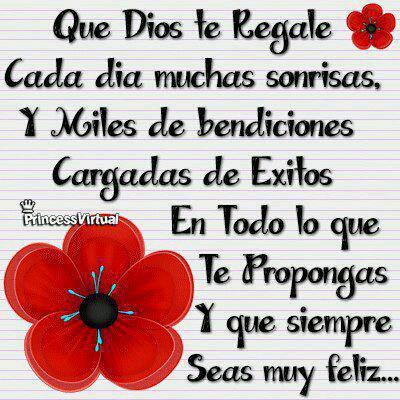 1que Dios te regale