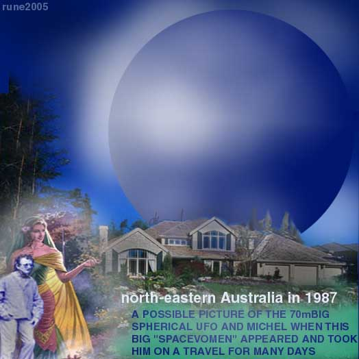Blue Spheres in Auuustralia