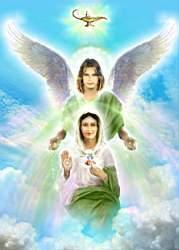 Arcangel-Rafael-y-Madre-Maria Los SAnadores