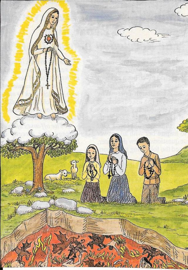Los pastoricitos de Fatima retrato