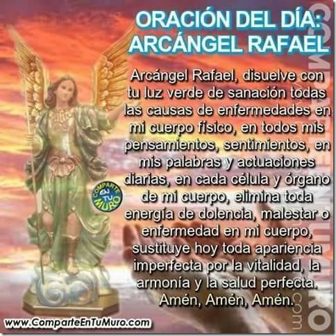 Arcangel Rafael y su oracion