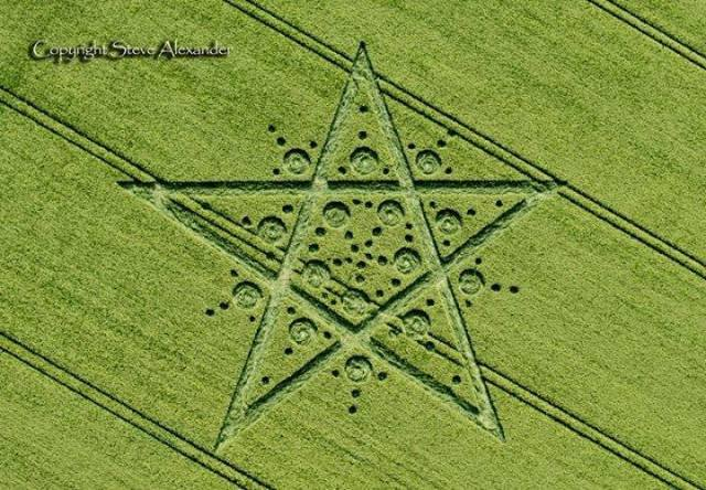 Crop circle 1 reino unido