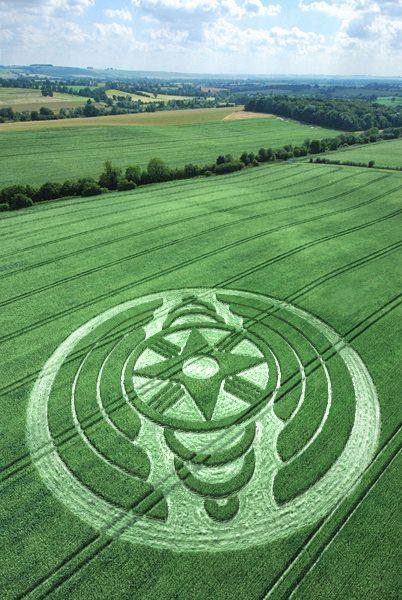 Crop Circle aprecido en Italia