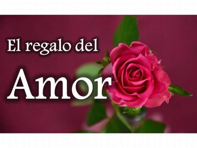 El regaglo delamor-una rosa roja