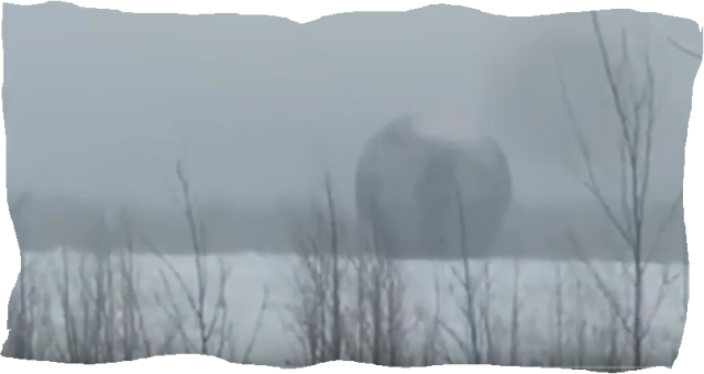 Extrana esfera en Rusia