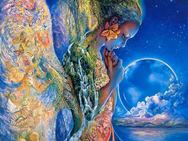 Madre Tierra, creacion divina