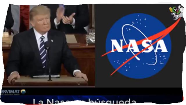 Trump y Nasa